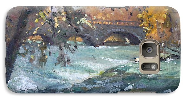 Goat Galaxy S7 Case - Late Afternoon By Niagara River by Ylli Haruni