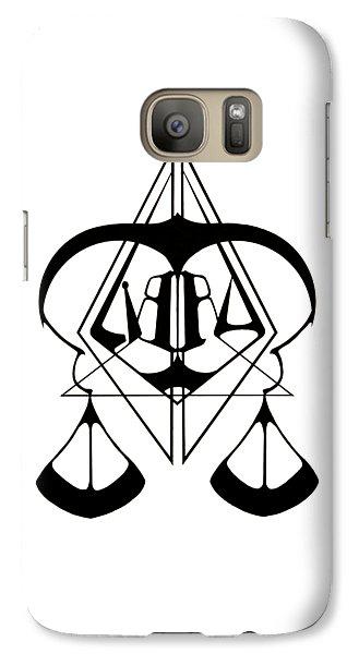 Roger Dean Galaxy S7 Case - Libra by Daniel P Cronin