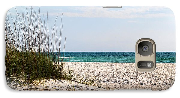 Galaxy Case featuring the photograph Lido Beach by Athala Carole Bruckner