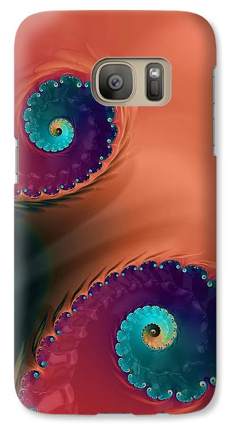 Galaxy Case featuring the  Life's Paths by Bonnie Bruno