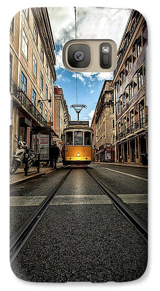 Galaxy Case featuring the photograph Light by Jorge Maia
