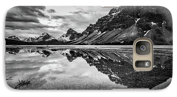 Galaxy Case featuring the photograph Light On The Peak by Jon Glaser