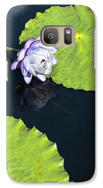Galaxy Case featuring the photograph Lily Love by Suzanne Gaff