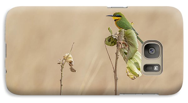 Galaxy Case featuring the tapestry - textile Little Bee-eater by Kathy Adams Clark