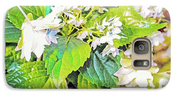 Galaxy Case featuring the photograph Little Orchids by Mindy Newman
