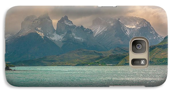 Galaxy Case featuring the photograph Los Cuernos  by Andrew Matwijec