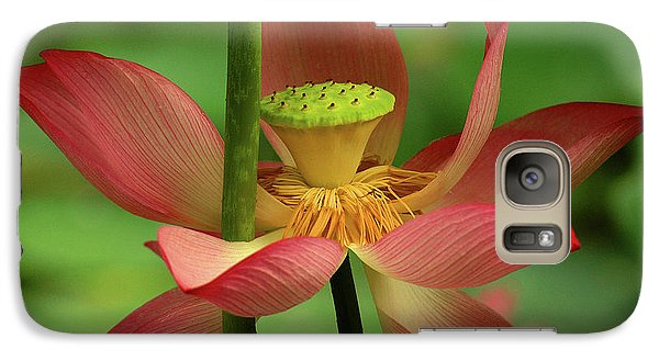 Galaxy Case featuring the photograph Lotus Flower by Harry Spitz