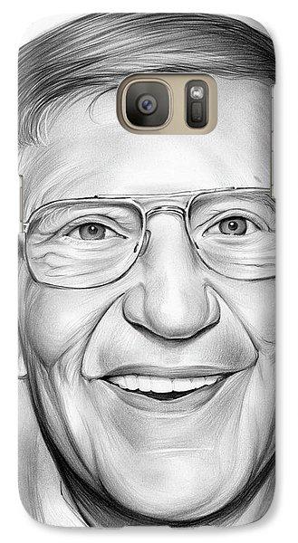Lou Holtz Galaxy S7 Case by Greg Joens