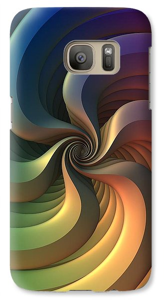 Galaxy Case featuring the digital art Maelstrom by Lyle Hatch