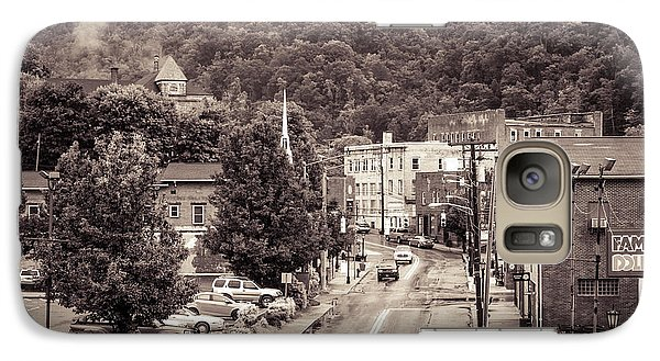 Galaxy Case featuring the photograph Main Street Webster Springs by Thomas R Fletcher