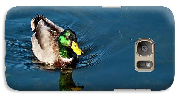 Galaxy S7 Case featuring the photograph Mallard by Bill Barber