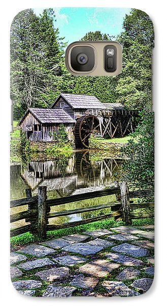 Galaxy Case featuring the photograph Marby Mill Pathway by Paul Ward
