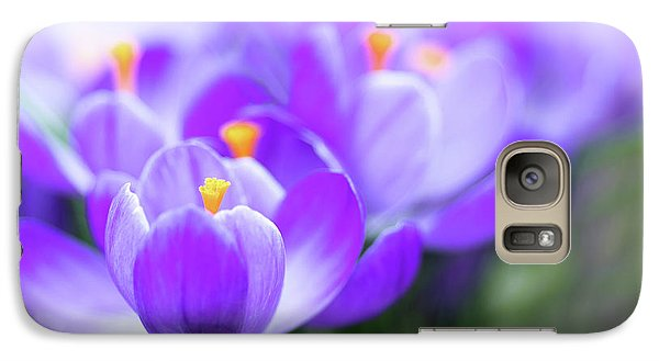 Galaxy Case featuring the photograph Marching Into Spring by Rebecca Cozart