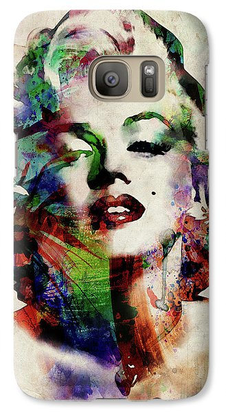 Marilyn Monroe Galaxy S7 Case - Marilyn by Michael Tompsett