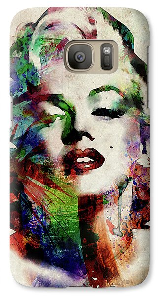 Marilyn Galaxy Case by Michael Tompsett