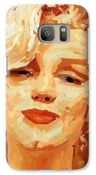 Galaxy Case featuring the painting Marylin Monroe 3 by James Shepherd