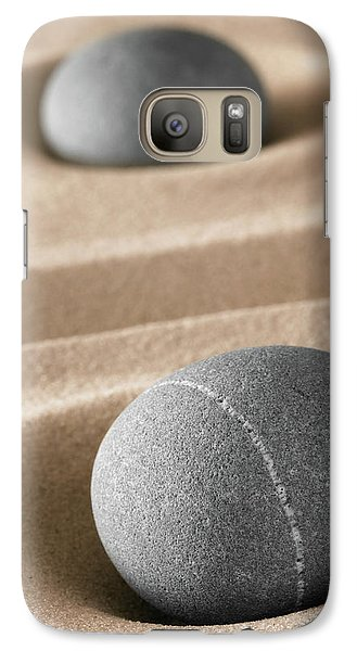 Galaxy Case featuring the photograph Meditation Stones by Dirk Ercken
