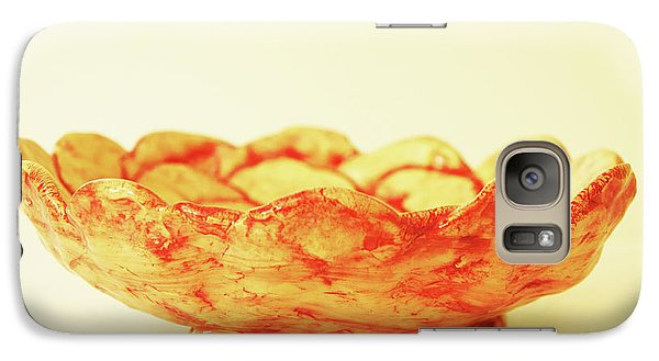 Galaxy Case featuring the photograph Medium Patches Bowl1 by Itzhak Richter