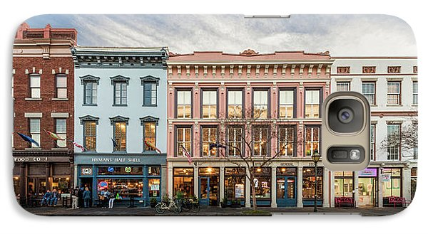 Galaxy Case featuring the photograph Meeting Street - Charleston, South Carolina by Carl Amoth