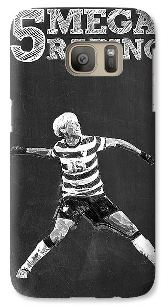 Megan Rapinoe Galaxy S7 Case by Semih Yurdabak