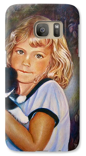 Galaxy Case featuring the painting Melissa by Patricia Schneider Mitchell