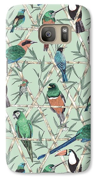 Menagerie Galaxy Case by Jacqueline Colley