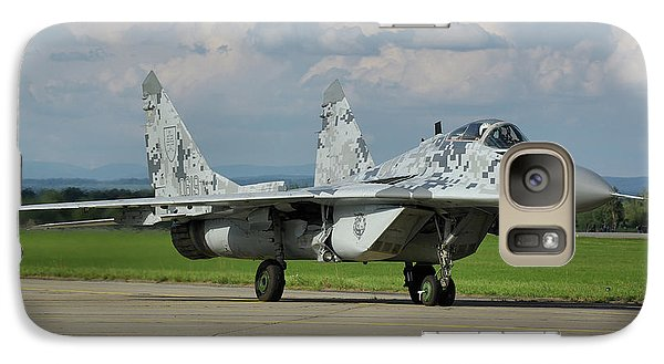 Galaxy Case featuring the photograph Mikoyan-gurevich Mig-29as by Tim Beach
