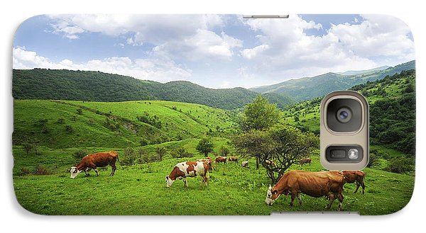 Galaxy Case featuring the photograph Milka by Bess Hamiti