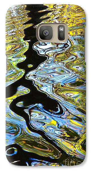 Galaxy Case featuring the photograph Mill Pond Reflection by Tom Cameron