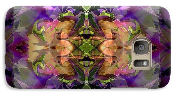 Galaxy Case featuring the digital art Mind Portal by Lynda Lehmann