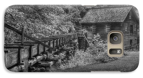 Galaxy Case featuring the photograph Mingus Mill 3 Mingus Creek Great Smoky Mountains Art by Reid Callaway