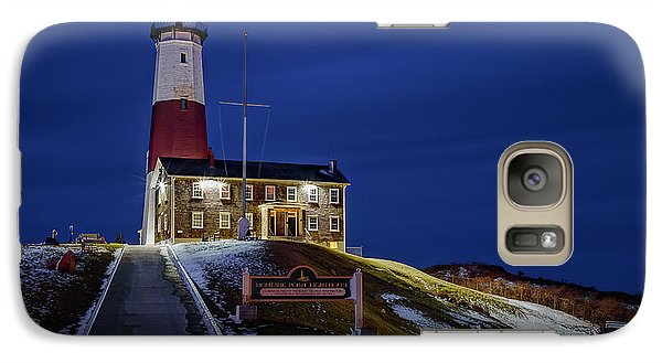 Galaxy Case featuring the photograph Montauk Point Lighthouse by Susan Candelario