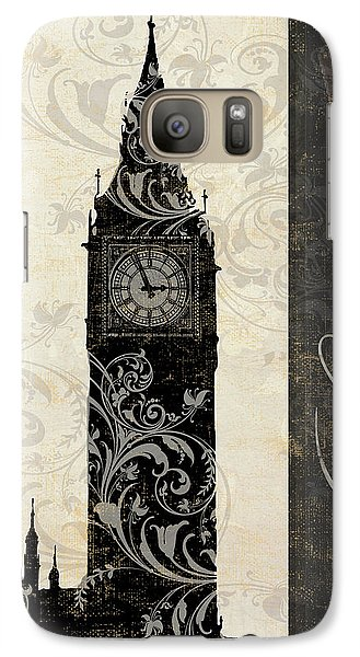 Moon Over London Galaxy S7 Case by Mindy Sommers