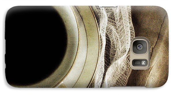 Galaxy Case featuring the photograph Morning Coffee by Bonnie Bruno