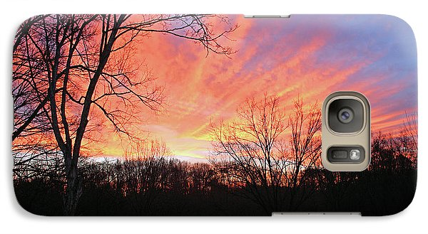 Galaxy Case featuring the photograph Morning Has Broken by Kristin Elmquist