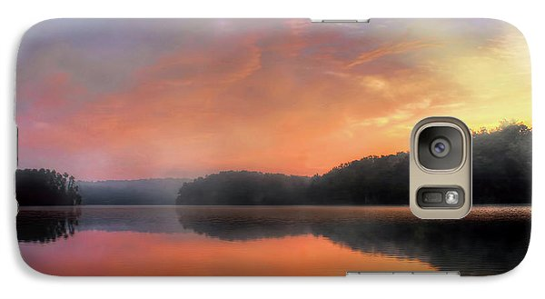Galaxy Case featuring the photograph Morning Solitude by Darren Fisher