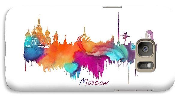 Moscow  Galaxy S7 Case by Justyna JBJart