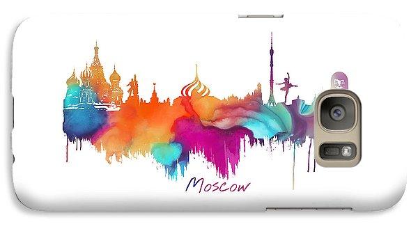 Moscow  Galaxy Case by Justyna JBJart
