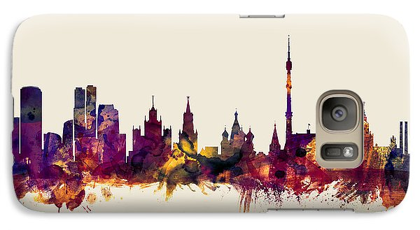 Moscow Russia Skyline Galaxy S7 Case