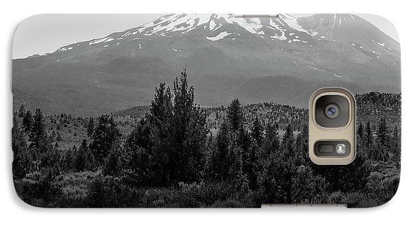 Galaxy Case featuring the photograph Mount Shasta And Shastina by Frank Wilson