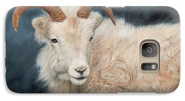 Mountain Goat Galaxy Case by David Stribbling