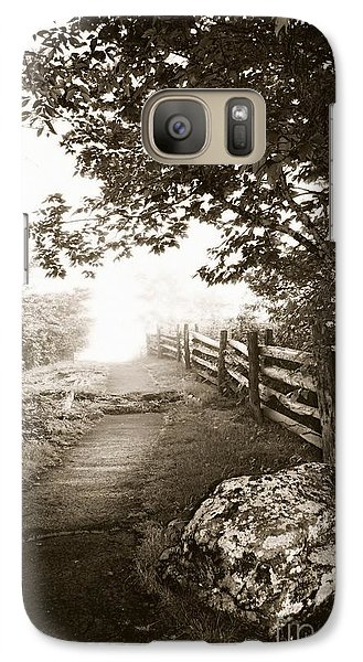 Galaxy Case featuring the photograph Mountain Morning by Janice Spivey