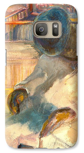 Galaxy Case featuring the painting Mr Hunters Porch by Daun Soden-Greene