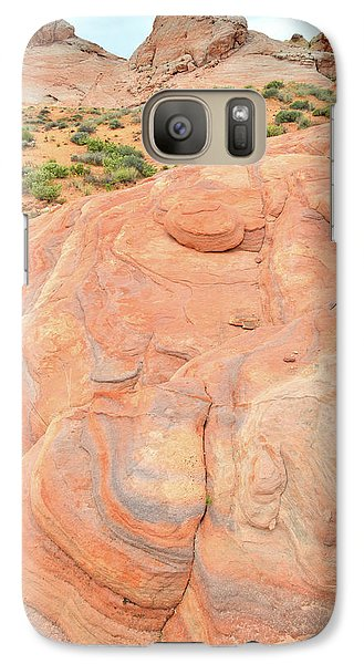 Galaxy Case featuring the photograph Multicolored Wave In Valley Of Fire by Ray Mathis