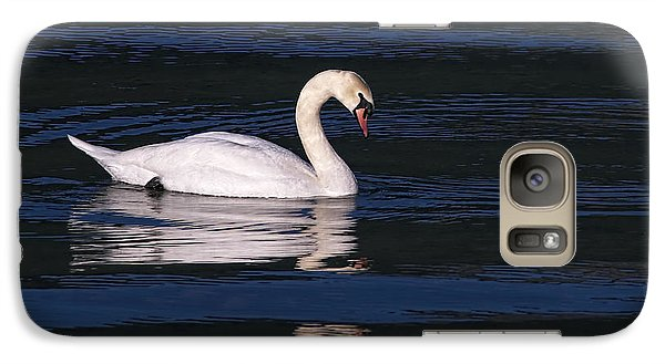 Galaxy Case featuring the photograph Mute Swan  by Sharon Talson