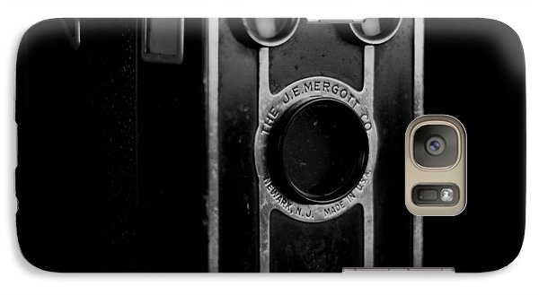 Galaxy Case featuring the photograph My Dad's Camera by Jeremy Lavender Photography