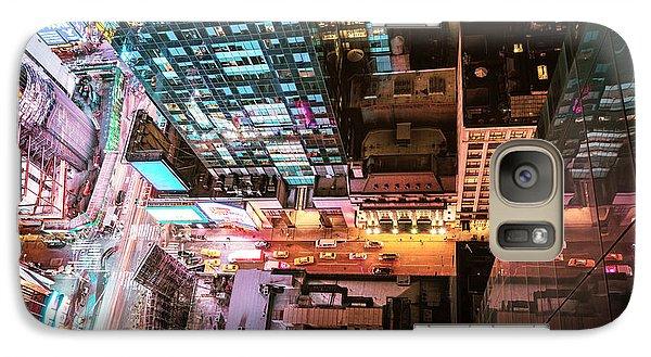 New York City - Night Galaxy S7 Case by Vivienne Gucwa