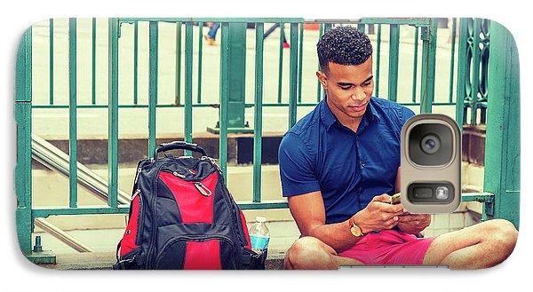 New York Subway Station Galaxy S7 Case
