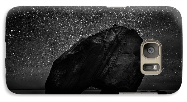 Galaxy Case featuring the photograph Night Guardian by Jorge Maia