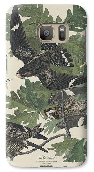 Night Hawk Galaxy S7 Case by Dreyer Wildlife Print Collections